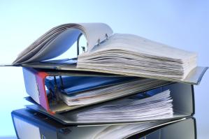 Unterlagen für die Schuldnerberatung
